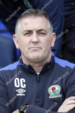 Blackburn Rovers Manager Owen Coyle during the EFL Sky Bet Championship match between Blackburn Rovers and Queens Park Rangers at Ewood Park, Blackburn