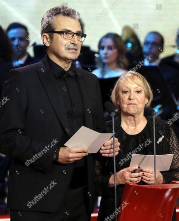 Yvonne Blake and Mariano Barroso