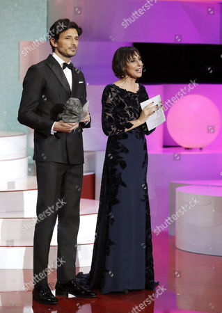 Maria Barranco and Andres Velencoso