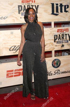 Editorial picture of ESPN Super Bowl LI Party, Houston, USA - 03 Feb 2017
