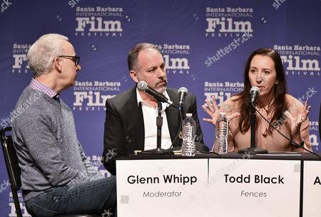 Glenn Whipp, Todd Black and Angie Fielder