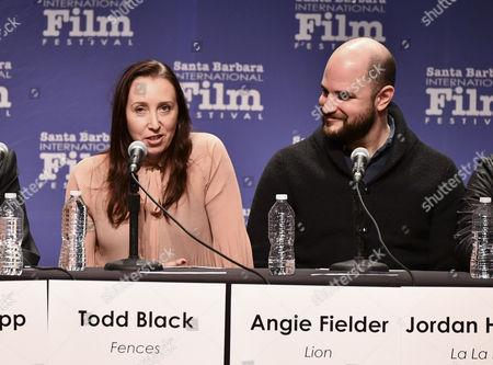 Angie Fielder and Jordan Horowitz