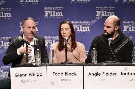 Todd Black, Angie Fielder and Jordan Horowitz