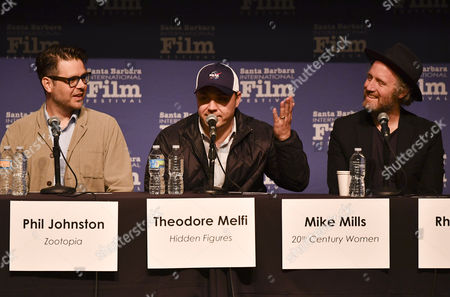 Phil Johnston, Theodore Melfi and Mike Mills
