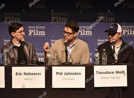 Eric Heisserer, Phil Johnston and Theodore Melfi