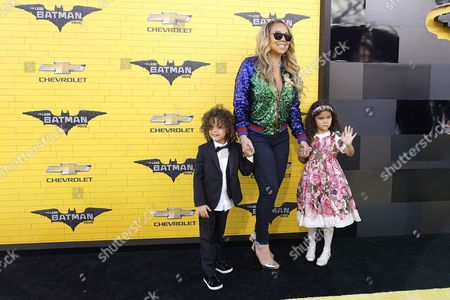 Mariah Carey, Moroccan Scott Cannon and Monroe Cannon
