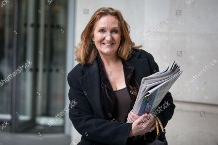UKIP Deputy Chair Suzanne Evans leaving