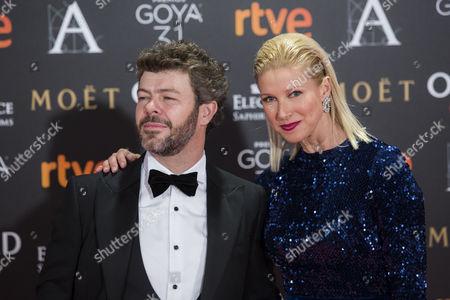 Anne Igartiburu and Pablo Heras-Casado