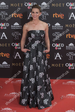 Editorial picture of Goya Cinema Awards, Arrivals, Madrid, Spain - 04 Feb 2017