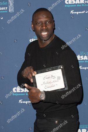Stock Image of Omar Sy