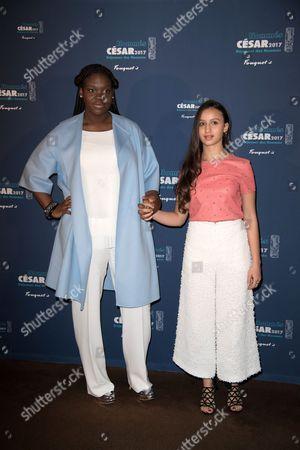 Deborah Lukumuena and Oulaya Amamra