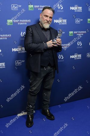 Stock Picture of Bouli Lanners wins award for best director
