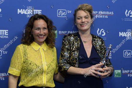 Stock Photo of Eve Duchemin, Annabella Nezri win best documentary