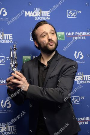 Stock Picture of Jean-Jacques Rausin wins the Magritte of the best actor