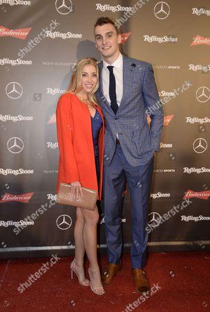 Olivia Harland and Sam Dekker