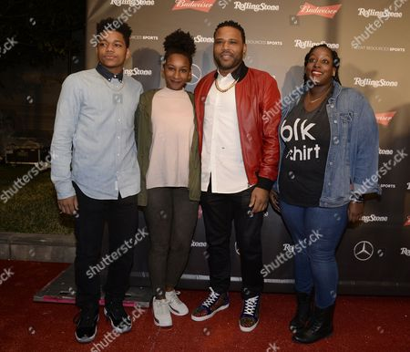 Stock Picture of Anthony Anderson, Kyra Anderson, Nathan Anderson