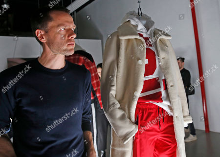Editorial picture of Fashion Mens Tim Coppens, New York, USA - 02 Feb 2017