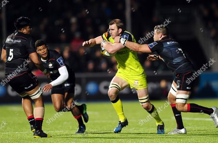 Editorial image of Saracens v Leicester Tigers, UK - 05 Feb 2017