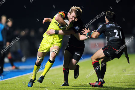 Editorial photo of Saracens v Leicester Tigers, UK - 05 Feb 2017