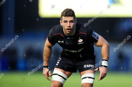Will Fraser of Saracens