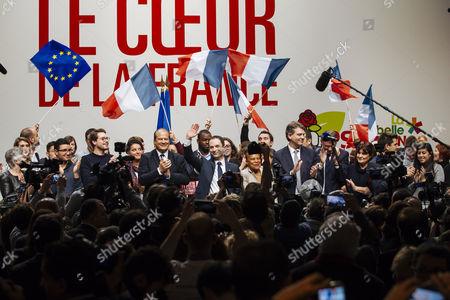 Editorial picture of Investiture of Benoit Hamon, Paris, France - 05 Feb 2017
