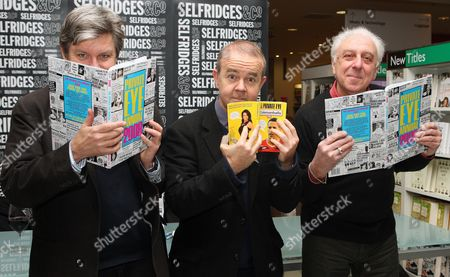 Nick Newman, Ian Hislop and Barry Fantoni