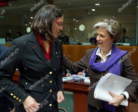 Editorial image of Belgium Eu Justice and Home Affairs Council - Feb 2011