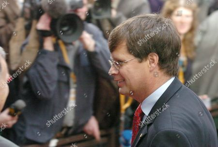 Dutch Prime Minister Pieter Jan Balkenende Arrived on the Second Day of a European Union Heads of State Summit in Brussels Wednesday 23 March 2005 Summit Meeting of European Union Leaders Focus on Relaunching the Lisbon Agenda a Project Begun in 2000 Which Aims to Make the Eu the World's Most Competitive Economy by 2010 Even Though the European Central Bank Has Cut Its Forecast For Eurozone Economic Growth in the Eurozone the Eu Commission President Jose Manuel Barroso Has Insisted Last Days That the Lisbon Agenda Can Be Revived in a Streamlined Form Belgium Brussels