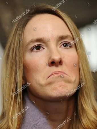 Belgian Justine Henin Pictured During a Press Conference 14 February 2011 on 26 January 2011 Henin Announced That She was Forced to Retire From Professional Tennis Once Again Because of an Elbow Injury Belgium Brussels
