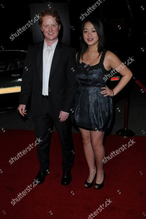 Stock Photo of Christopher Carley and Ahney Her