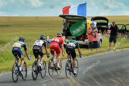 Editorial image of France Cycling Tour De France 2012 - Jul 2012