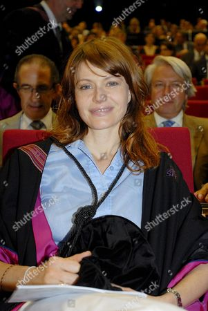 Belgian Singer Axelle Red Pictured During the Ceremony of Honorary Degrees (doctor Honoris Causa) of Uhasselt Hasselt University Wednesday 28 May 2008 Belgium Hasselt