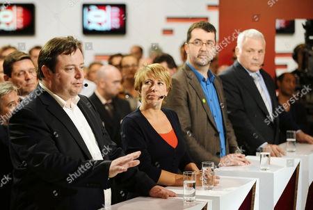 Editorial image of Belgium Elections 2010 Vrt Show - Jun 2010