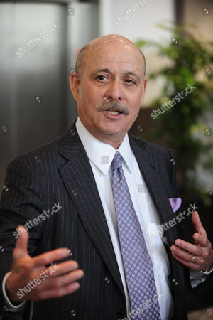 Us Jeremy Rifkin President and Founder of the Foundation on Economic Trends and Author of Best-selling Books on the Impact of Scientific and Technological Changes on the Economy the Workforce Society and the Environment at the Start of a Meeting with Flemish Minister President Kris Peeters (not Pictured) in Brussels Belgium on 10 May 2010 Belgium Brussels
