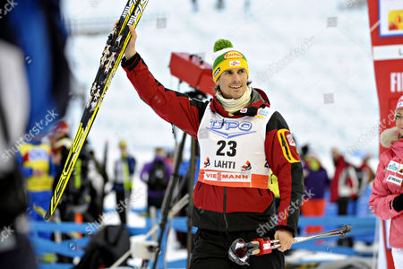 Editorial image of Finland Nordic Combined World Cup - Mar 2011