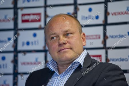 Head Coach of the Finnish National Soccer Team Mixu Paatelainen Speaks During a Press Conference in Helsinki Finland 11 November 2013 Paatelainen Announced the Squad For the Friendly Match Against Wales on 16 November in Cardiff Finland Helsinki