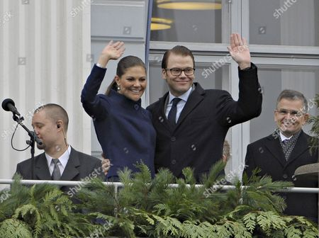 Editorial photo of Finland Sweden Royalty - Nov 2010