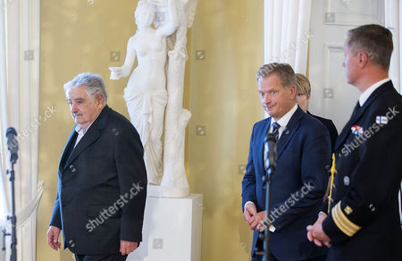 Editorial image of Finland Uruguay President Jos? Mujica Visit to Finland - Sep 2014