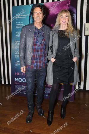 Stock Image of Paulo Pires e Astrid Werding