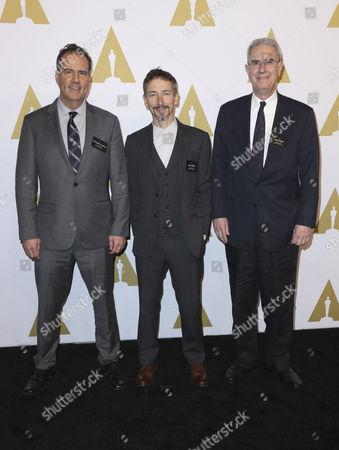 Stuart Wilson, Christopher Scarabosio and David Parker