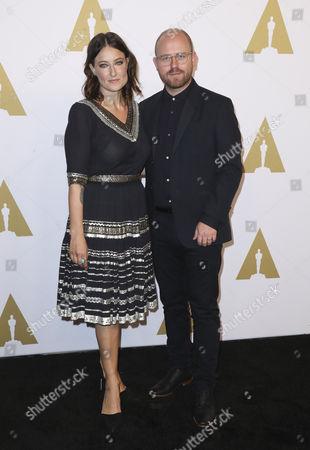 James Laxton and Adele Romanski
