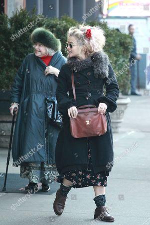 Helena Bonham Carter and Elena Propper de Callejon