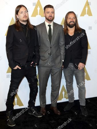 Stock Image of Shellback, Justin Timberlake and Max Martin