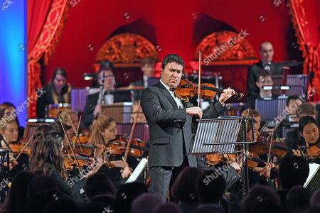 Violinist Maxim Vengerov performs