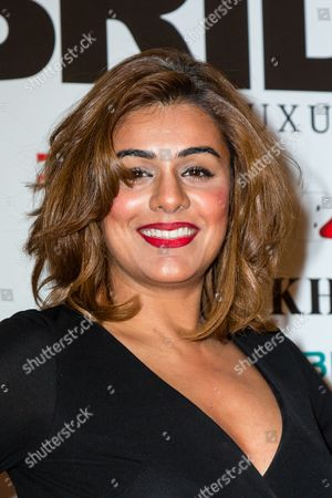 Editorial picture of Fashion Parade, Arrivals, London, UK - 06 Feb 2017