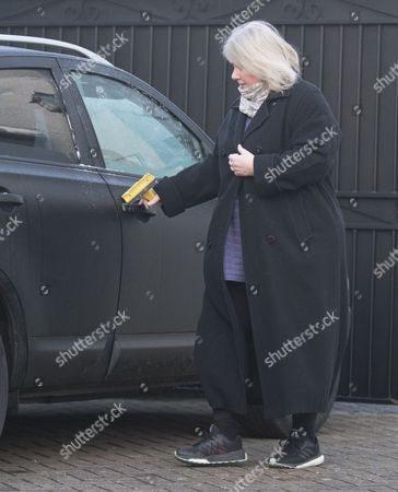 Editorial image of Kirsten Farage out and about, Kent, UK - 06 Feb 2017