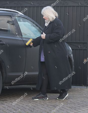 Editorial photo of Kirsten Farage out and about, Kent, UK - 06 Feb 2017