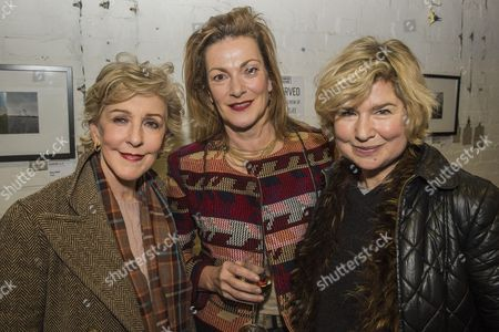 Patricia Hodge, Nicki Hall and Issy Van Randwyck