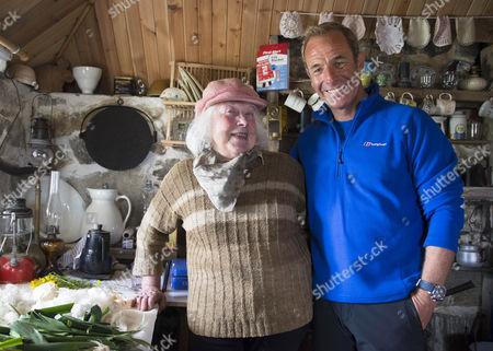 """Ep 3 Outer Hebrides Pictured: Robson Green meets Flora MacDonald in her renovated """"Sheiling"""" home on North Uist in the Outer Hebrides"""