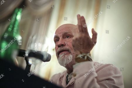 Editorial image of Argentina Entertainment Malkovich - Oct 2016